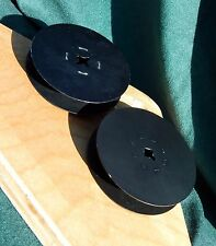 De Vry Corp Metal Film Reels Take Up Storage Lot of 2 Vintage Steel Aluminum