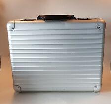 vintage RIMOWA  Aktenkoffer Koffer Alukoffer 45 x 36 x 13 cm briefcase weekender