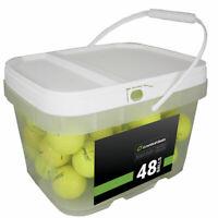 48 Titleist AVX Yellow Near Mint Used Golf Balls AAAA *In a Free Bucket!*