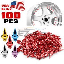 100pcs Spiked Wheel Rivets For Wheels Rims Jdm Lip Pc Wrl01