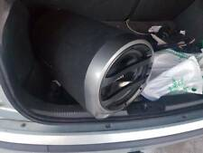 Fusion tube sub subwoofer built in amp 800 Watt   all cables