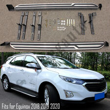 Fits for Chevrolet Equinox 2018 2019 2020 running board nerf bars side steps