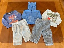 Baby Toddler Boys Fall Winter CLOTHES LOT Outfits 6M Baby Gap OshKosh B'gosh EUC