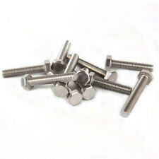 M3,4,5,6,8,10,12,14,16 mm Hex Head Bolts 304 A2-70 Stainless Full Thread Screws