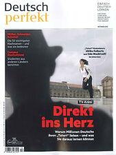 Deutsch perfekt, Heft Oktober 10/2016: Direkt ins Herz  +++ wie neu +++