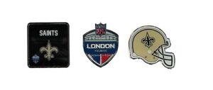 NFL International series wembley London NEW ORLEANS SAINTS   3 Pin badge SET
