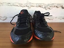Mizuno Mens Wave Unite 2 Running Shoe Black & Orange US SIZE 6.5