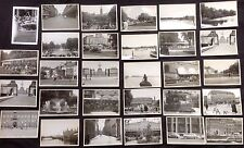 STOCKHOLM SWEDEN Vintage Lot Holiday 1950's Old Photographs Photos Black & White