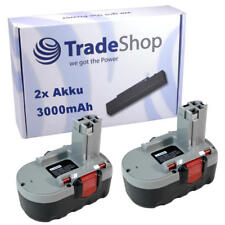 2x Batterie 18v 3000mah pour Bosch DG utilisatrices 18 v-HT ve-2 gds-18-v-ht gsr-18-ve-2
