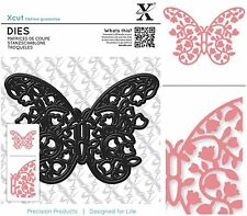 DOCRAFTS XCUT FLORAL FILIGREE BUTTERFLY CUTTING DIES - NEW UNIVERSAL FIT