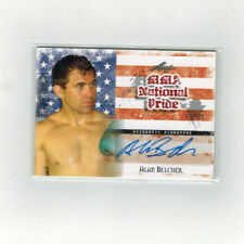 2010 Leaf MMA Alan Belcher RED National Pride /60 Auto Autograph UFC