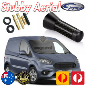 Antenna / Aerial Stubby Bee Sting for Ford Courier - Black Carbon 3.5cm