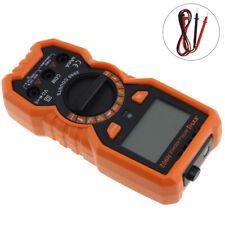 LCD Digital Multimeter Ammeter Voltmeter DC AC OHM Current Circuit Tester