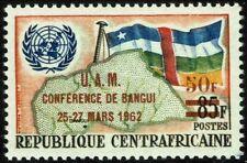 Central African Republic #18 MNH Flag Malgache Union