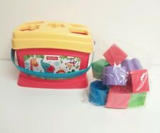 Fisher Price Brilliant Basics Baby's First Blocks Shapes Sorter Learning Toy