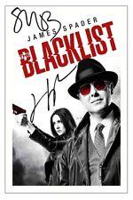 JAMES SPADER + MEGAN BOONE THE BLACKLIST SIGNED PHOTO PRINT AUTOGRAPH