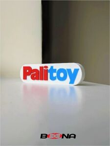 Decorative Self standing PALITOY maker of Action man logo