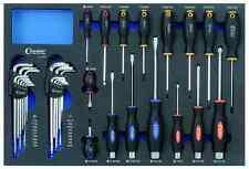 Condor 7250 Werkzeugeinlage Schraubendreher Systemeinlage Einlage Werkzeug