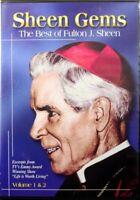 Sheen Gems The Best of Fulton J. Sheen Volume 1 and 2 Brand NEW Christian DVD