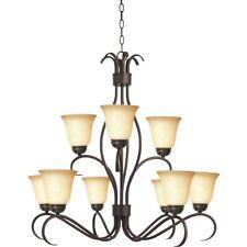 Maxim Lighting Basix 9-Light Chandelier Oil Rubbed Bronze - 10128WSOI