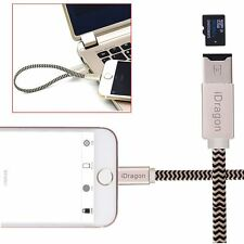 TF Micro SD Card Reader USB iFlash Sync Data Cable Charger for iPhone 7 2017