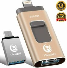 iPhone Flash Drive 256GB USB External Storage, Type c, Android, PC iPhone