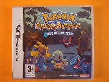 ds POKEMON MYSTERY DUNGEON Blue Rescue Team Nintendo PAL Version Lite DSi 3DS
