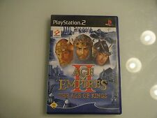 Age Of Empires II: The Age Of Kings (Sony PlayStation 2, 2002, DVD-Box)