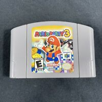 Mario Party 3 Nintendo 64 N64 Game Cartridge Authentic and Tested