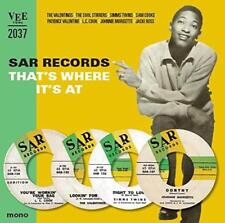"""SAR Records - That's Where Its At - Various Artists (NEW 10"""" VINYL)"""