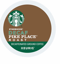 Starbucks, Decaf Pike Place Roast Coffee, Keurig K-Cups, 96-Count