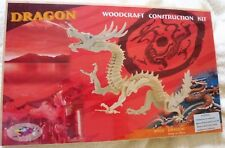 3D Wood Craft Model Construction Kit Lucky Chinese Dragon New