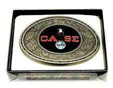 Case Belt Buckle Tractor Harvester Farm American Eagle Western SpecCast Licensed