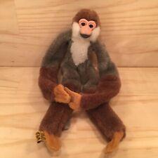 "WILD REPUBLIC ""Brown"" Gorgeous Monkey Animal Soft Toy Cuddly Stuffed Friend"