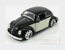 Volkswagen Beetle Custom 1959 Black Cream JADA TOYS 1:24 JADA99018-99021