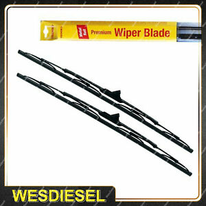 Tridon Front Wiper Complete Blade Set for Renault Trafic 04/04 - 12/12