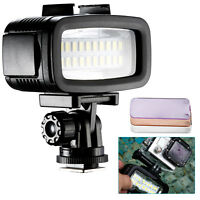 Neewer Waterproof Up to 131ft/40m Underwater 20 LED 700LM Flash Dimmable Light