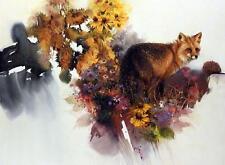 "Morten Solberg ""Garden Visitor"" Red Fox Print  Image 30"" x 22"""
