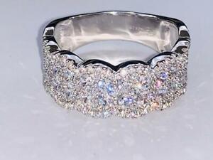 Diamonique Ring 925er Silber rhodiniert  Gr.54 moi201