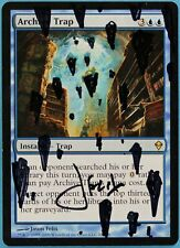 Archive Trap Zendikar NM Blue Rare Artist Signed Altered CARD (sa4136) ABUGames