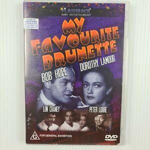 My Favourite Brunette DVD - Bob Hope - Dorothy Lamour - B/W 1947 - TRACKED POST