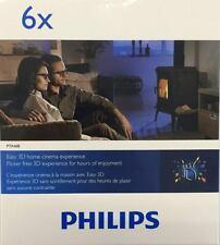 6 x Stück Philips PTA 468 3D Brillen
