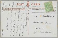 Edwardian postcard sent to Mr Smallwood, Newcote Farm, Warter, Nr Pocklington