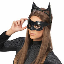 Catwoman Batman Headpiece Eyemask Goggles Mask Ears Cat Women Costume Kit