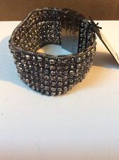 $45 Kenneth Cole® Woven Faceted Bead Multi Row Bracelet #445