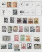 26 Mexico Stamps from Quality Old Antique Album 1916-1927