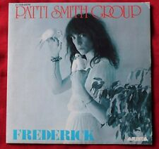 Patti Smith Group, Frederick / fire of unknown, SP - 45 tours France