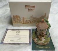 Lilliput Lane Tea Caddy Cottage Complete New In Box England Retired 674