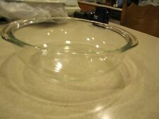 Vintage Pyrex clear glass 3 QT Casserole Roasting Baking Dish -026- no Lid