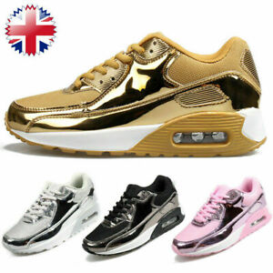 Womens Ladies Running Trainers Gym Shock Absorbing Sports Fitness Shoes Size New